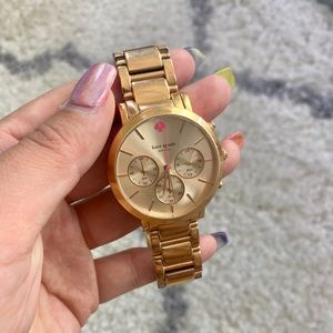Kate Space Gramercy Grand Rose Gold-Tone Watch